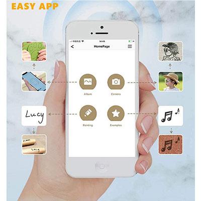 app per smartphone incisore laser laserpecker pro