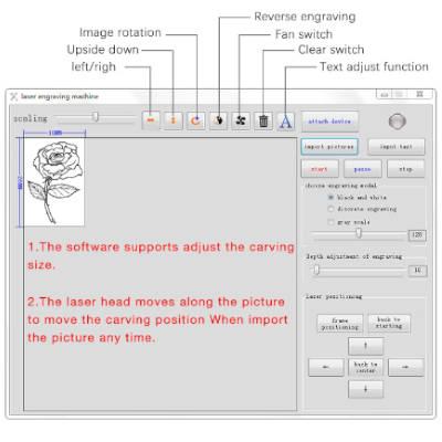 software incisore laser k5