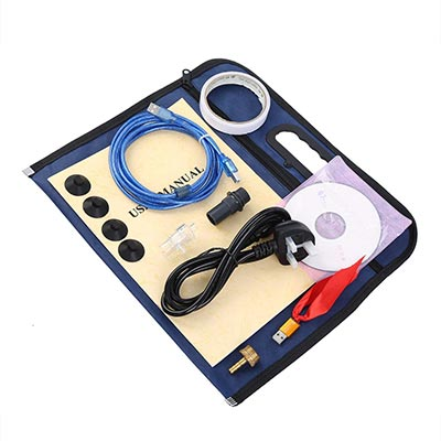Incisore laser CO2 da 40 W Tagliatrice laser 300x200mm Incisione laser Macchina da taglio USB